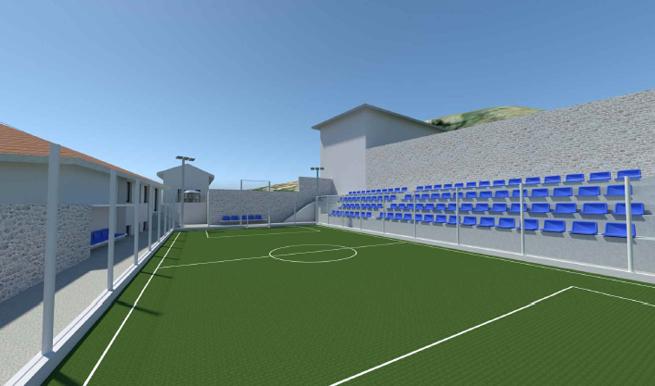 """Partizan"" sport grounds rehabilitation project"
